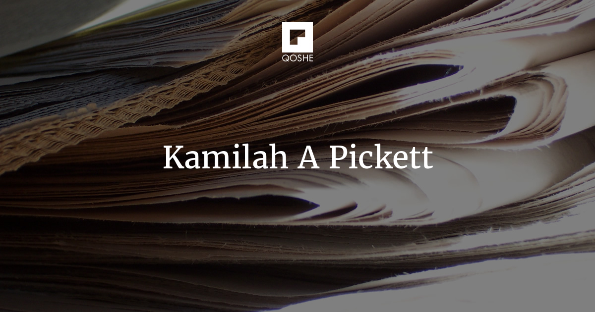 QOSHE - On being told to 'go back' - Kamilah A Pickett