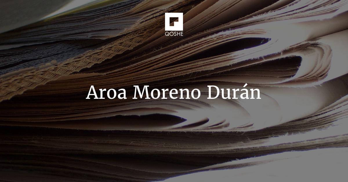 Qoshe El Nadador Aroa Moreno Durán