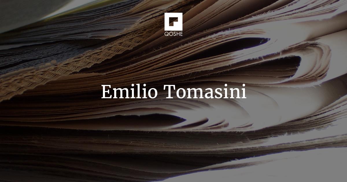80b0fea2aa QOSHE - Emilio Tomasini